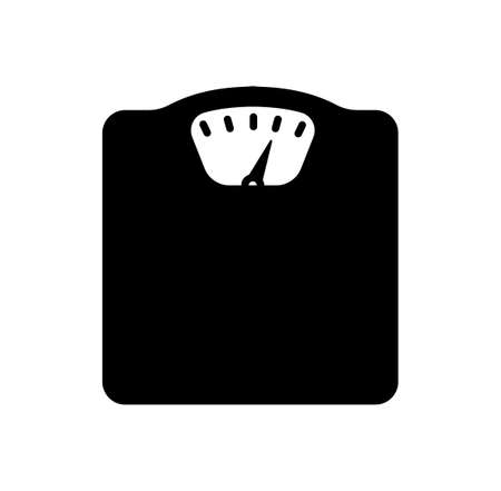 weight scale / diet and metabolic syndrome icon