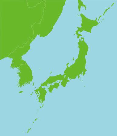 Blank map Ilustração