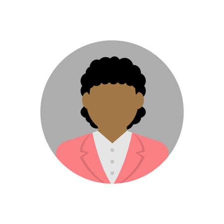 business woman avatar illustration Ilustracje wektorowe