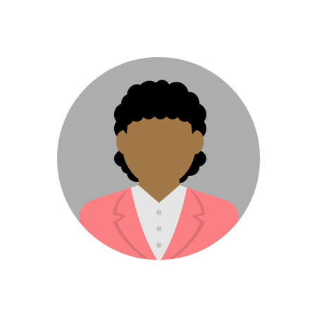 business woman avatar illustration Illustration