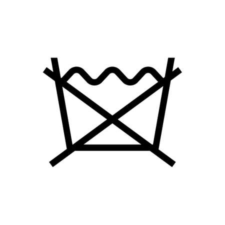Laundry Symbol Icon No Wash Royalty Free Cliparts Vectors And