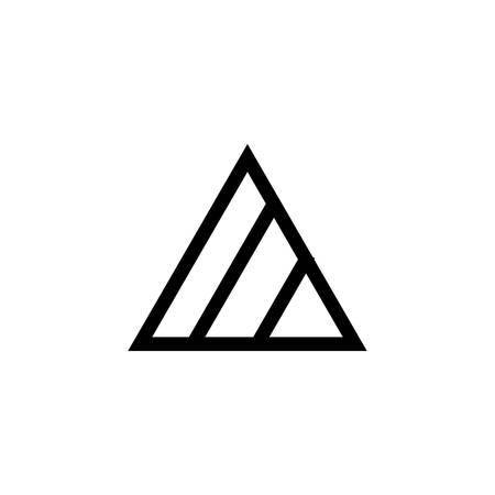 Laundry symbol icon (Non-Chlorine bleach when needed) Illustration