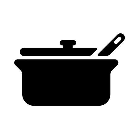 Pot, cooking icon
