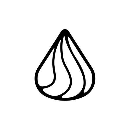 Whipped cream icon