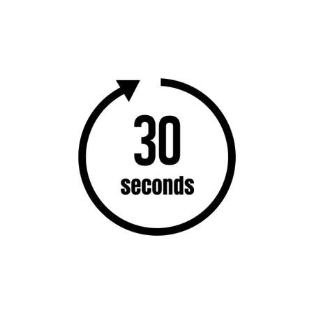 Clock, timer (time passage) icon/30 seconds