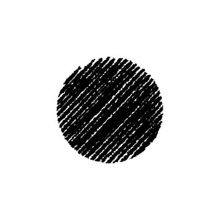 chalk drawing shape (circle)