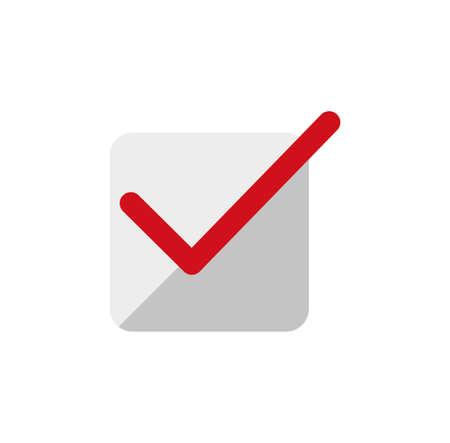 Color illustration icon  checkmark Illustration