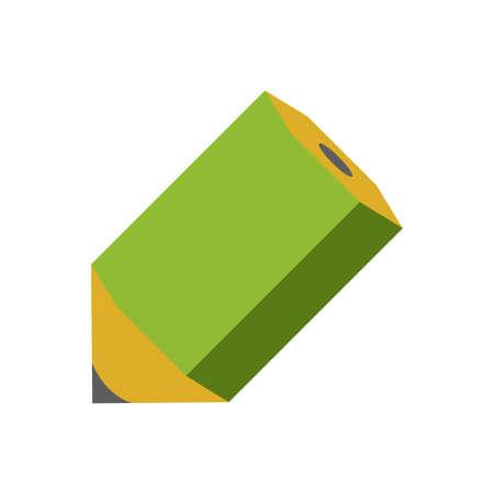 Color illustration icon / pencil 向量圖像