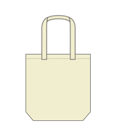 Tote Bag Template Vector