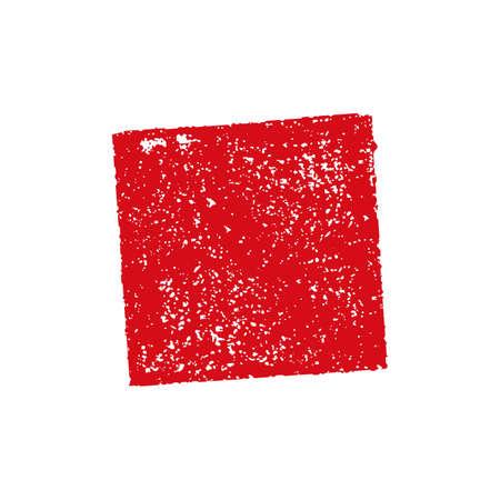 rubber stamp frame (square) Иллюстрация