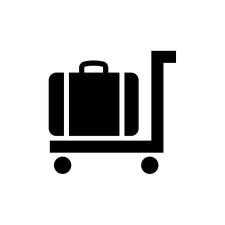 Cart icon and public information symbol