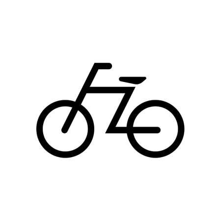 bicycle, cycle the icon / public information symbol