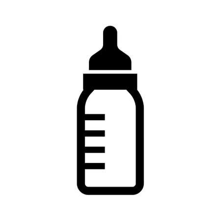 milk bottle icon (baby/newborn)
