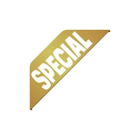 corner ribbon banner icon set (SPECIAL)