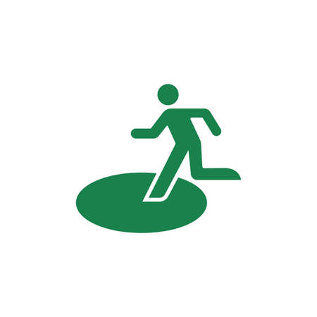 public safety sign (pictogram) and Safety evacuation