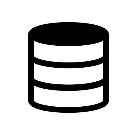 Storage  database  server icon Çizim