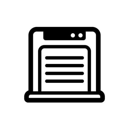 air cleaner, air purifier icon Иллюстрация