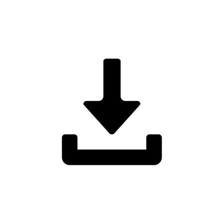 Download icon (arrow)  イラスト・ベクター素材