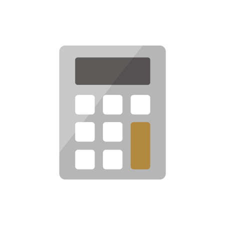 Calculator, accounting icon