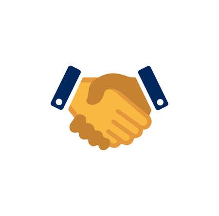 handshake, partnership icon  イラスト・ベクター素材