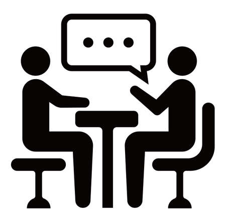 meeting, discussion, conversation icon