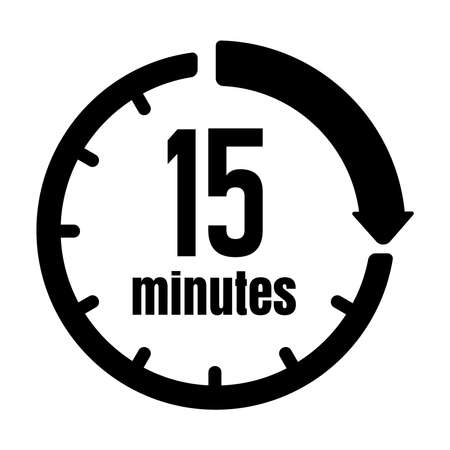 Clock, Timer (time Passage) icon15 minutes