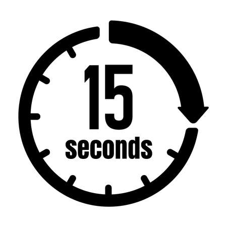 Clock, Timer (time Passage) icon15 seconds