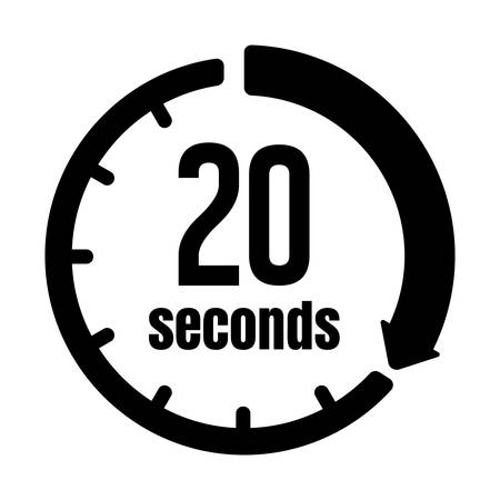 Clock, Timer (time Passage) icon/20 seconds