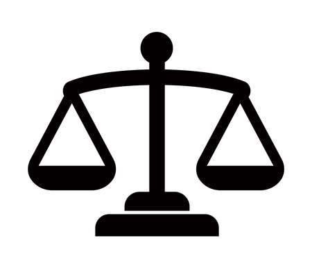 Balance, Judge, Scale, Court icon