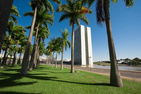 national congress: The National Congress of Brazil in brasilia city capital of brazil