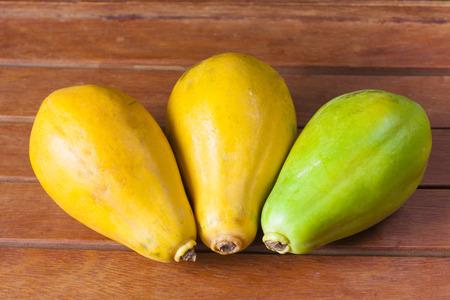 formosa: Tropical Fresh Fruits. Mamao Papaya and formosa