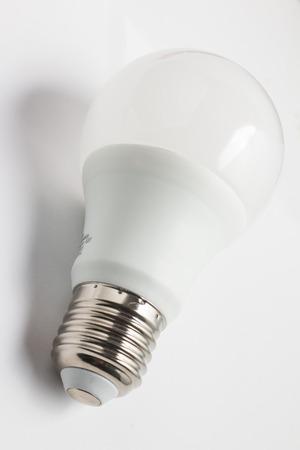 led: White Led Lamp in white background
