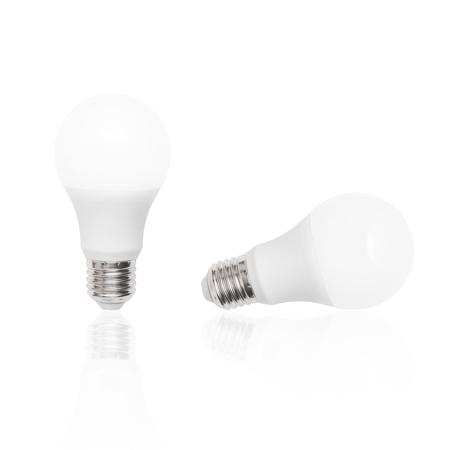 power saving lamp: White Led Lamp in white background