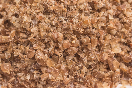 Close-up on Ground Wheat.