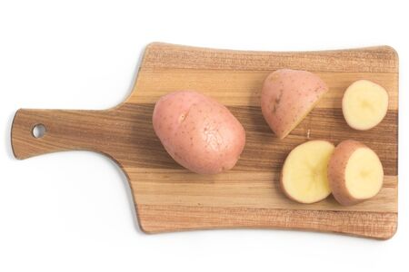 asterix: Pink Potato. Asterix isolated on white background