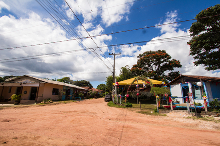 Sao Jorge City Church in Chapada dos Veadeiros, Goias, Brazil