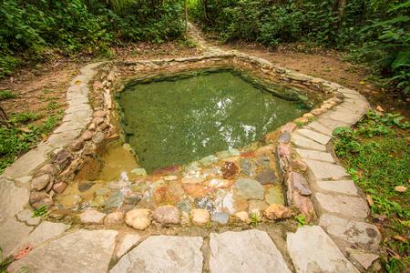 Jardim do Eden natural pool water. Chapada dos veadeiros, Goias, Brazil
