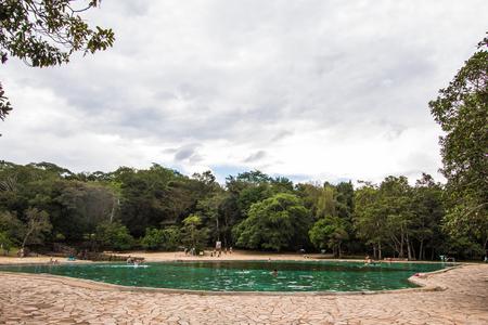 Parque Nacional Agua Mineral.  Natural Pool. Brasilia, Brazil