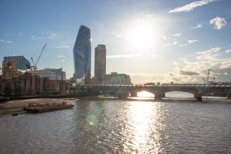 Panoramic cityscape view of London. Office building. England, United Kingdom Reklamní fotografie