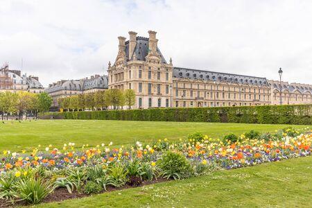 Paris, France - APRIL 9, 2019: École du Louvre. Institution of higher education, Paris, France, Europe 写真素材 - 133706876
