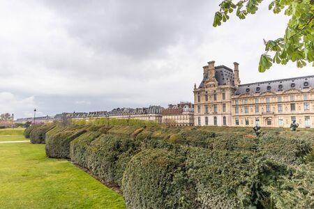 Paris, France - APRIL 9, 2019: École du Louvre. Institution of higher education, Paris, France, Europe 写真素材 - 133706893