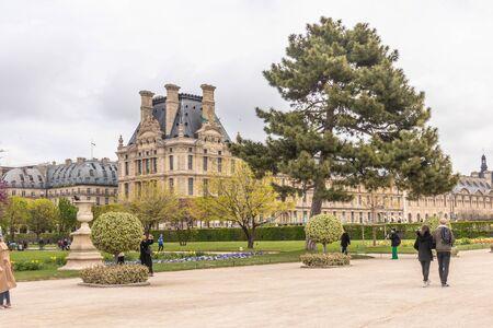 Paris, France - APRIL 9, 2019: École du Louvre. Institution of higher education, Paris, France, Europe