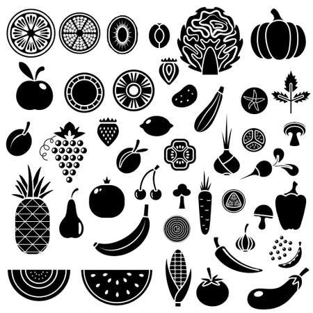 18,202 Vegetables Silhouette Cliparts, Stock Vector And Royalty ...