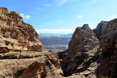 siq: Petra capital of ancient Nabatean nation