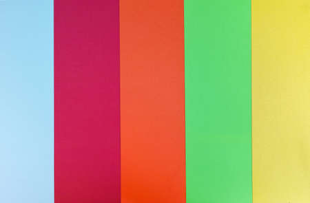 stripped: Multicolor stripped background, blue, red, orange, green, yellow Stock Photo
