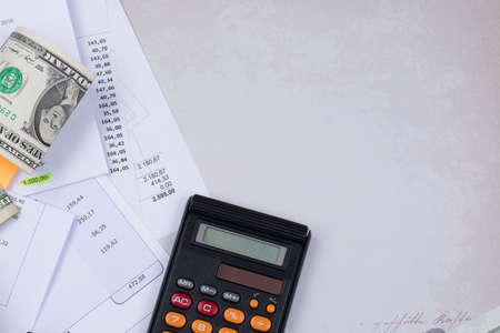 utility or mortgage bills calculator and us dollars finance
