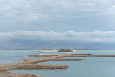 Laagste zoutmeer ter wereld onder zeeniveau Dode zee