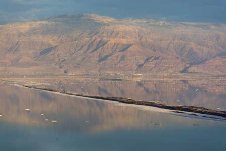 Lowest salty lake in world below sea level Dead sea