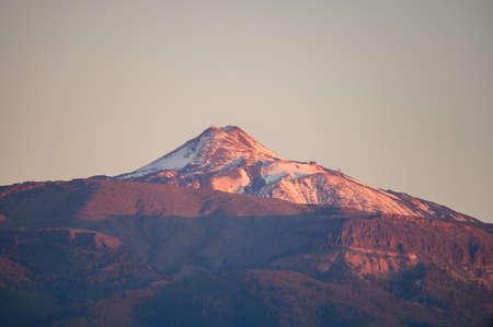 Aerial view on top of volcano Mount Teide on Tenerife island, Canary, Spain Reklamní fotografie