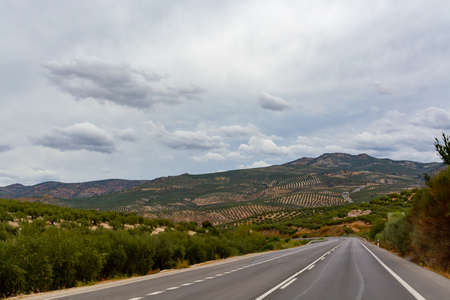 Road trip in Andalusia, travelling with car on south part of Spain